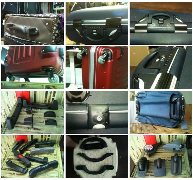 ремонт чемоданов на колесиках