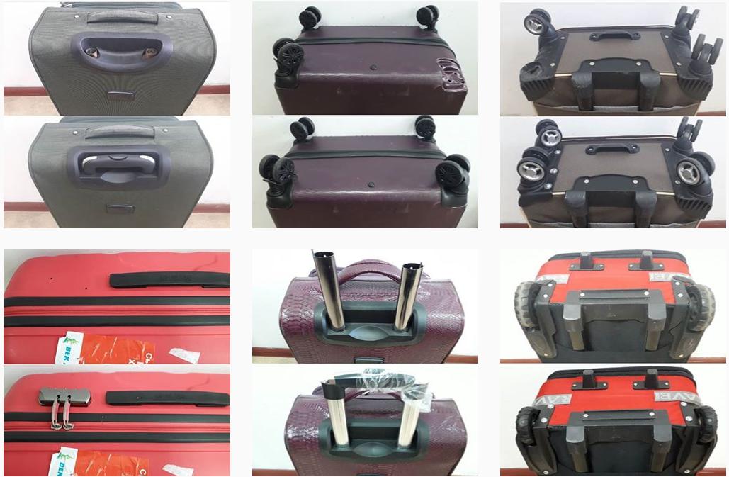 фото до и после ремонта пукли чемодана