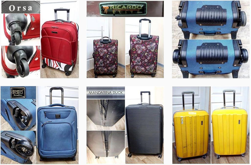 новые комплектующие для чемоданов