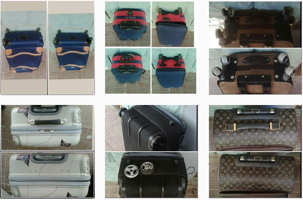 задние ножки для чемоданов