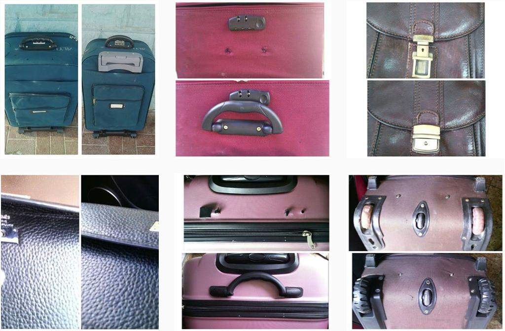новые молнии в магазине запчастей для чемоданов