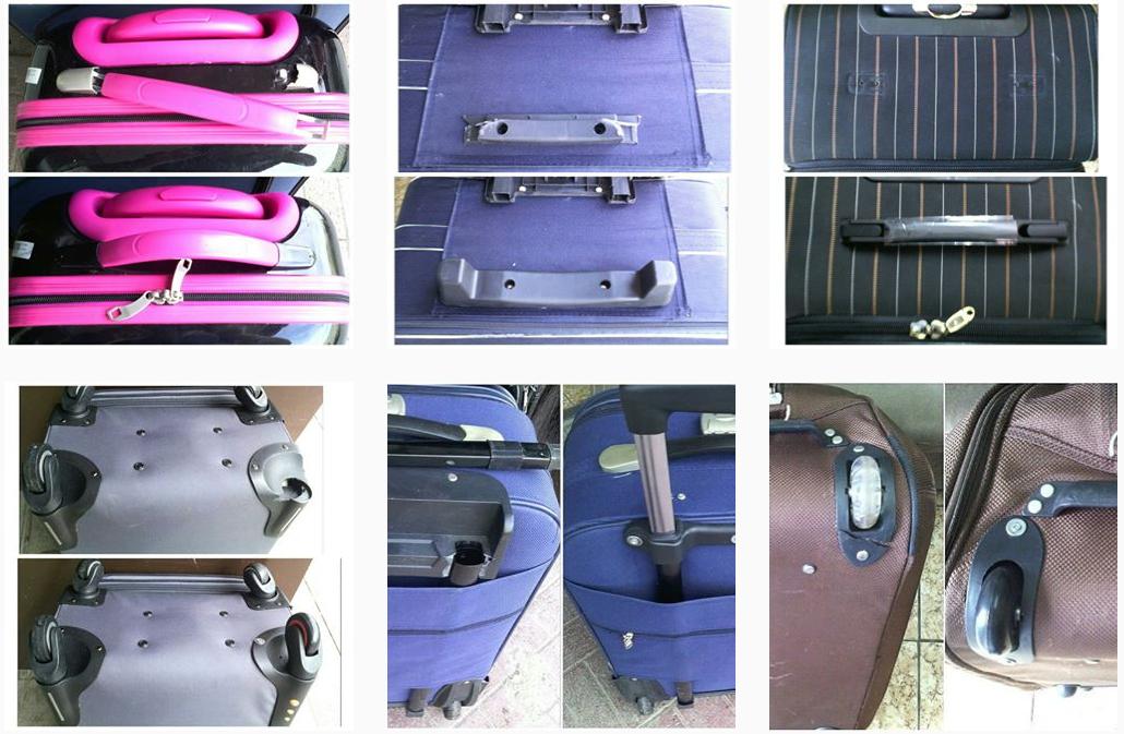 запчасти и пукли к чемоданам
