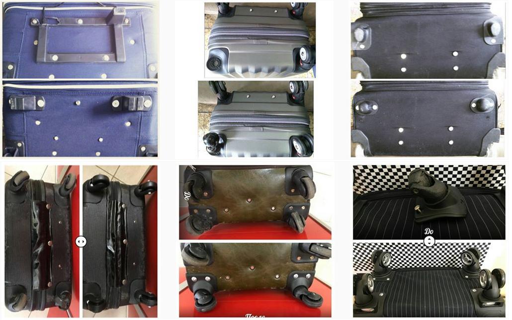 фото ножки для ремонта чемодана